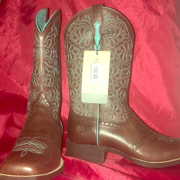 9dea4ce5bab Ariat Women s Round up Remuda Western Cowboy Boot